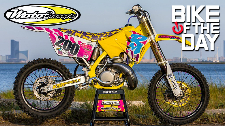 Traction MX RM250 RETRO BUILD