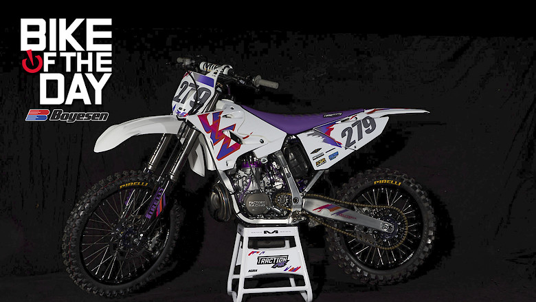 Traction Mx YZ250 Build