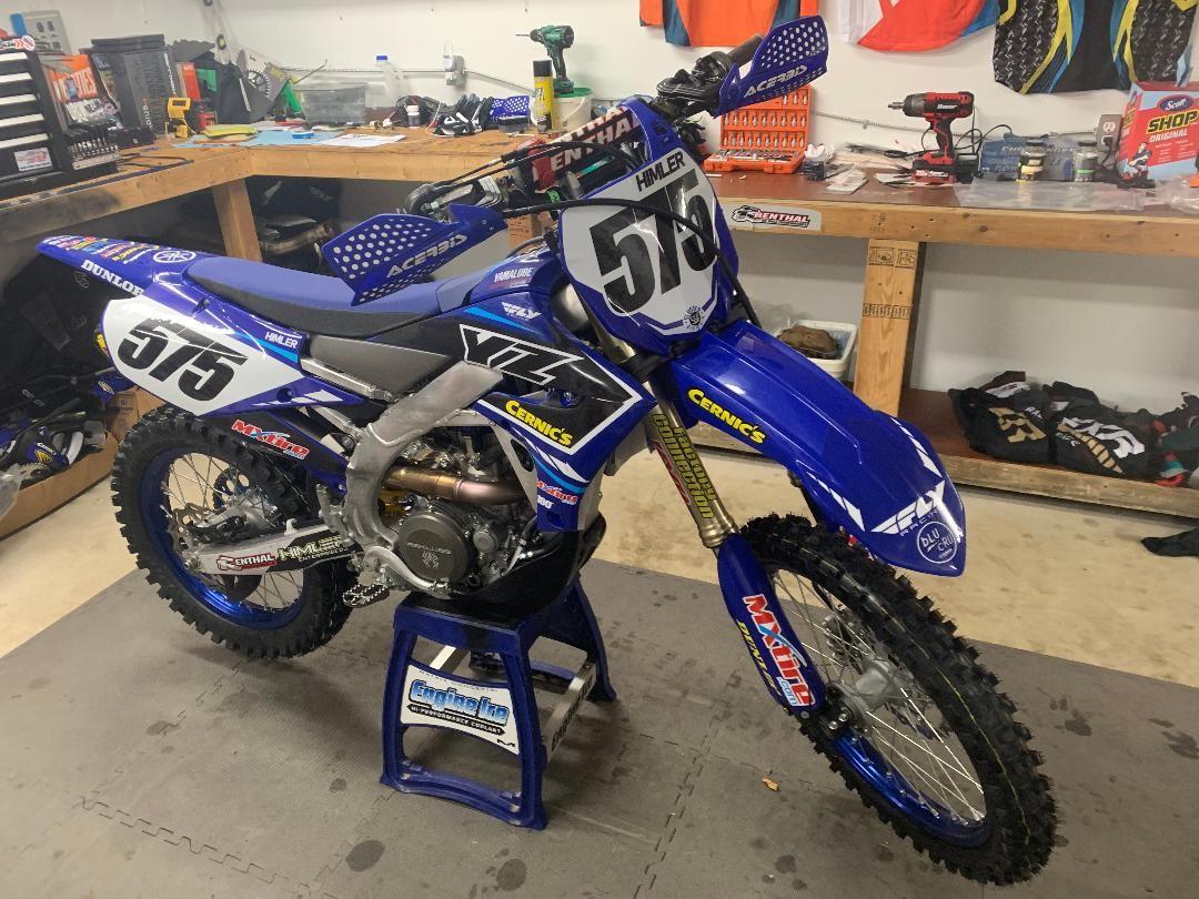 2020 Yamaha Yz250FX - Luke_Himler - Motocross Pictures - Vital MX