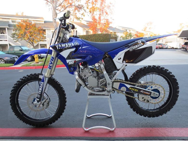 2006 YZ 125 err 167