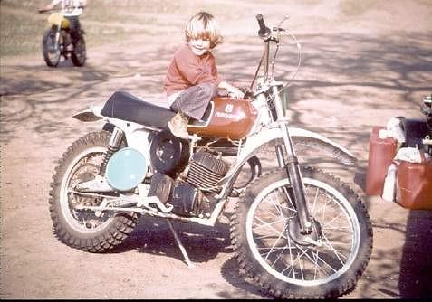 On my dads Husky - ocscottie - Motocross Pictures - Vital MX