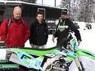 Rekluse Goes Snowbiking with FrozenMoto Industries