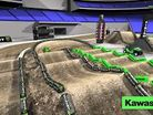 2014 San Diego SX Animated Track Map