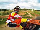 Matiss Karro at 2014 MXoN track in Kegums, Latvia