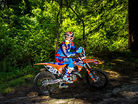 Jessy Nelson Blasts NorCal Woods on a Two-Stroke