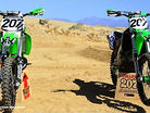 Sean Collier's KX500 versus KX450 with MXA