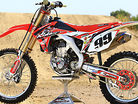 2015 Ride Eng CRF450 Bike Test with Kyle Lewis
