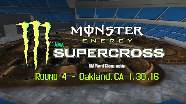 Animated Track Map: Oakland SX