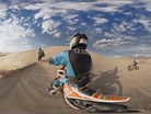 Sand Dune Jumping in VR with Ronnie Renner