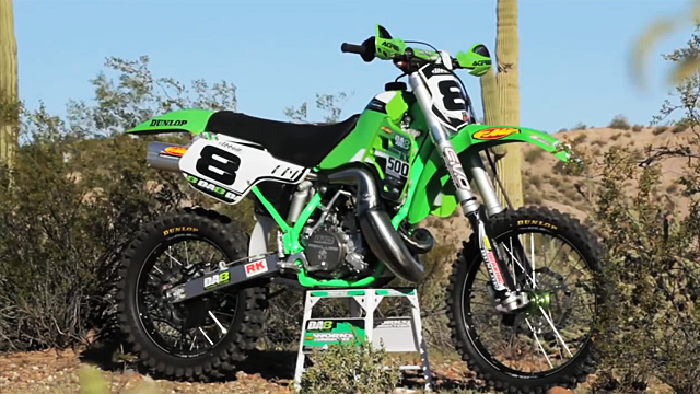 Destry Abbott's KX500