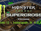 Animated Track Map: Indianapolis SX