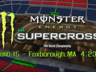 Animated Track Map: Foxborough SX