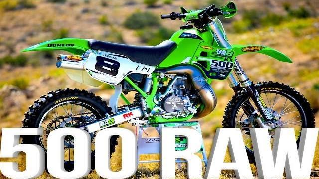 Kawasaki KX500 2 Stroke RAW featuring Destry Abbott