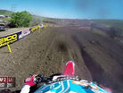 Onboard: Cole Seely / Ryan Dungey Crash - Thunder Valley MX