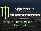 Animated Track Map: Detroit SX