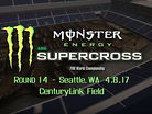 Animated Track Map: Seattle SX