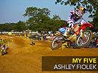 My Five: Ashley Fiolek