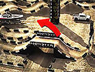 2012 Los Angeles Supercross Animated Track Map