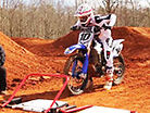 Kyle and Justin at the JGRMX/Toyota/Yamaha Test Track