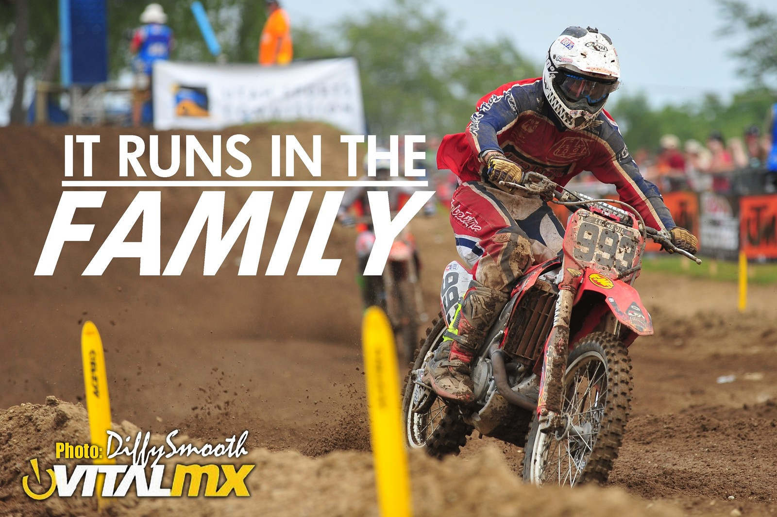IT RUNS IN THE FAMILY - Austin Wagner - DiffySmooth - Motocross Pictures - Vital MX