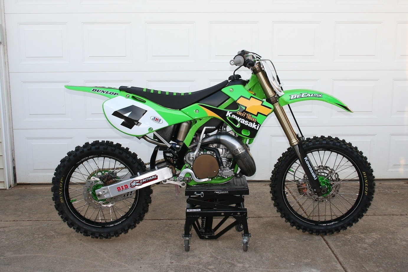 KX250 4 - Cadpro18 - Motocross Pictures - Vital MX