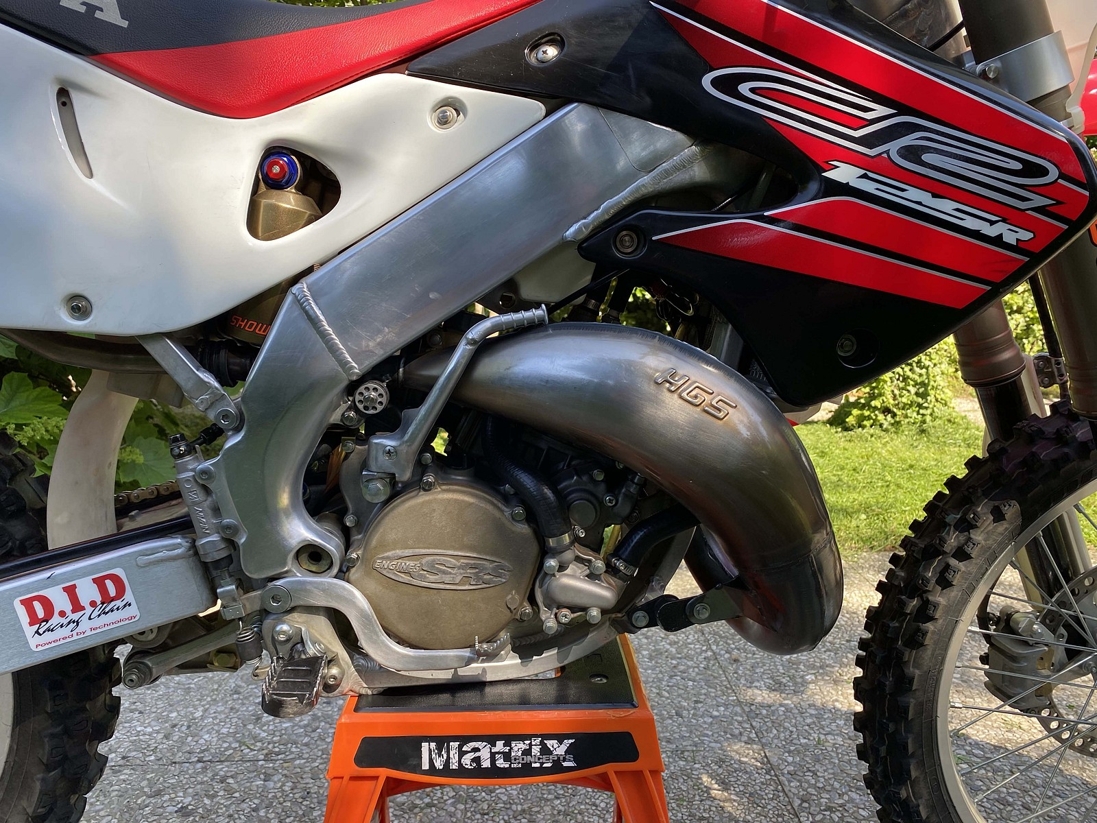 DRSideOK Magnesium Cover SRS - Debegio - Motocross Pictures - Vital MX