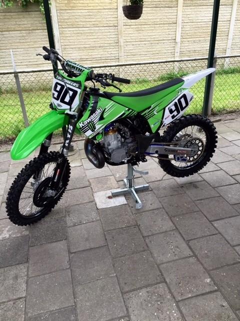 Kawasaki KX250 Rebuild Sold !