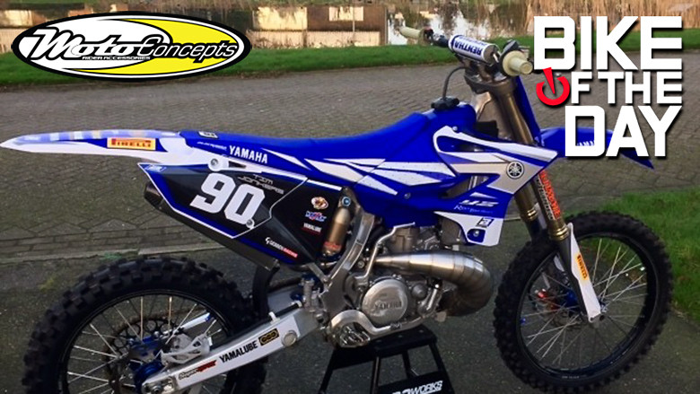 Yamaha YZ 250 NEW :TYGA STAINLESS STEEL PIPE !