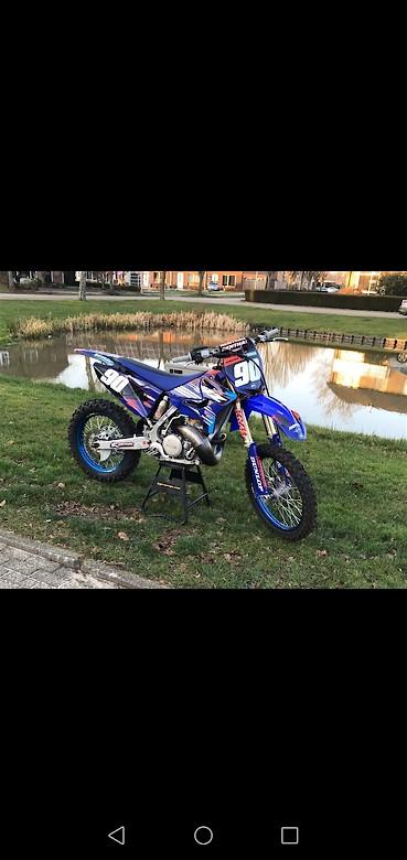 Yamaha YZ250 Bike for 2020