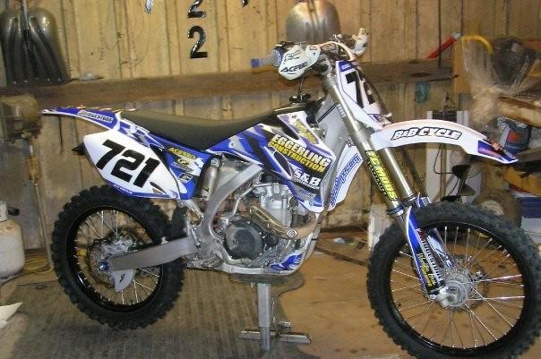 2009 Yamaha YZ450F - MX721's Bike Check - Vital MX