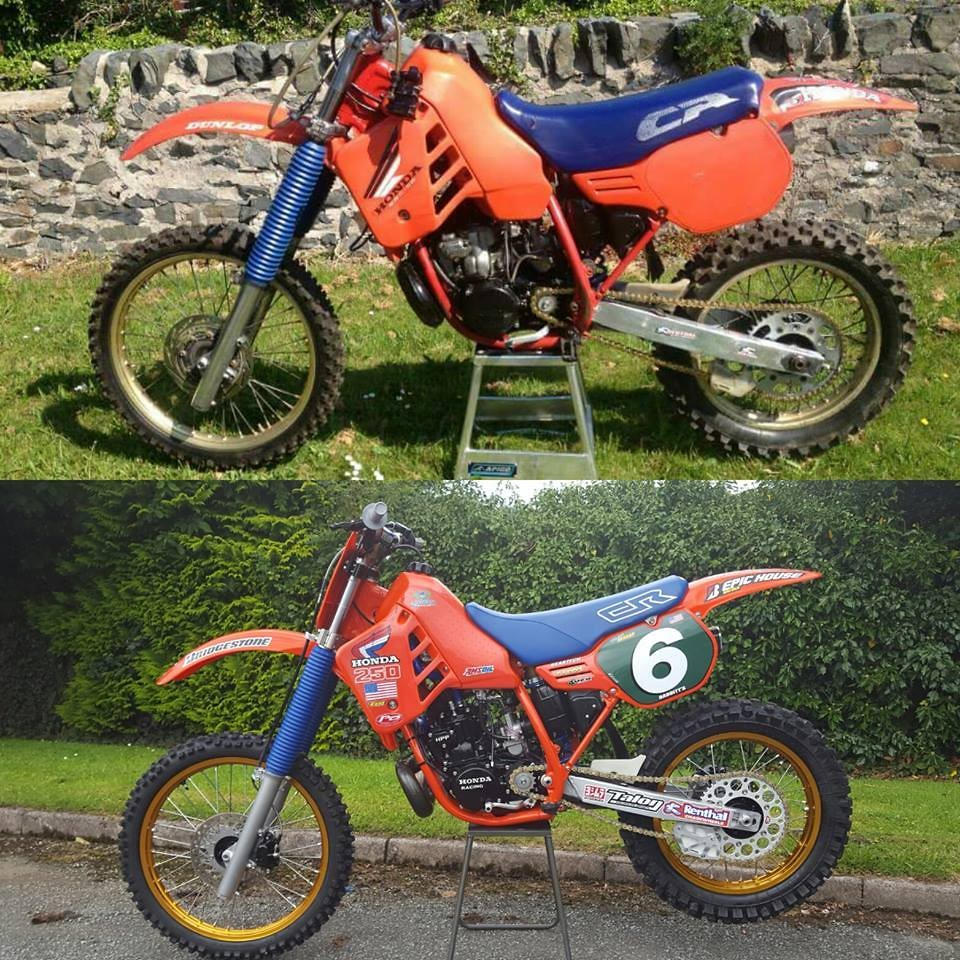 Before and after!  With Todd DeHoops vets MXdN grafix.