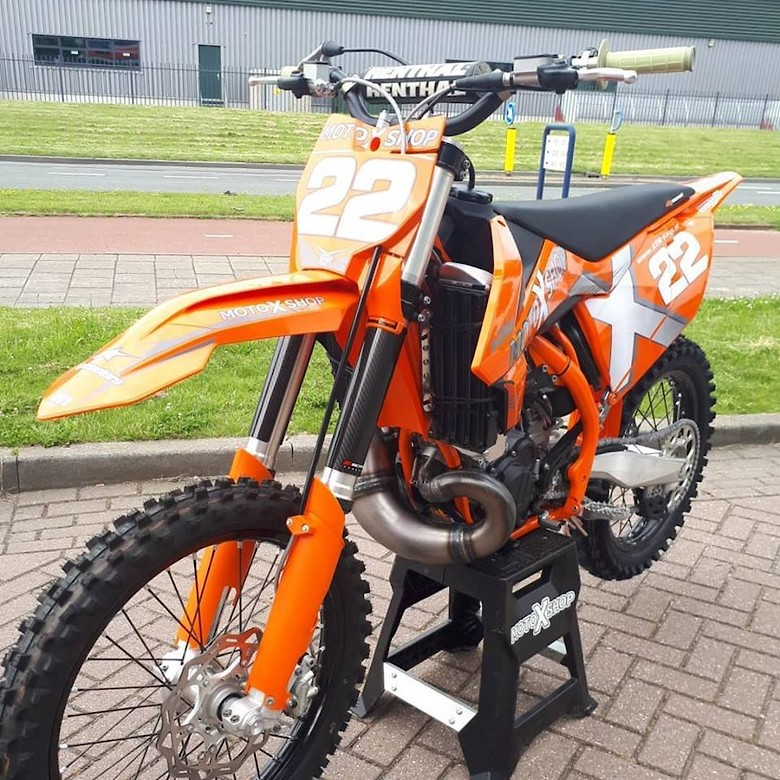 KTM motoXshop SX250 2018