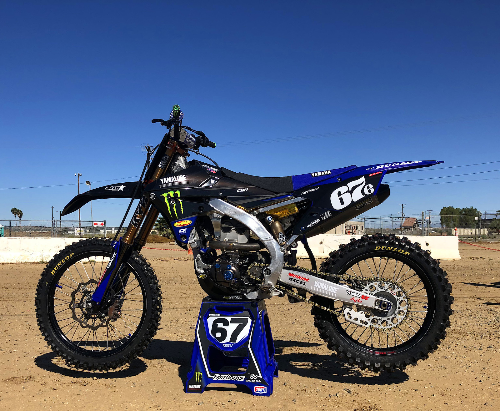 2015 Yamaha YZ250f Star racing replica