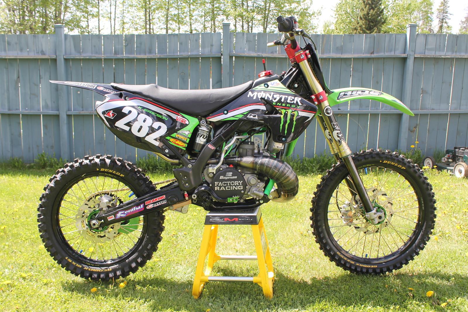 2007 KX 250 CANADA'S NICEST KX TWO STROKE - bcsnake's Bike Check ...