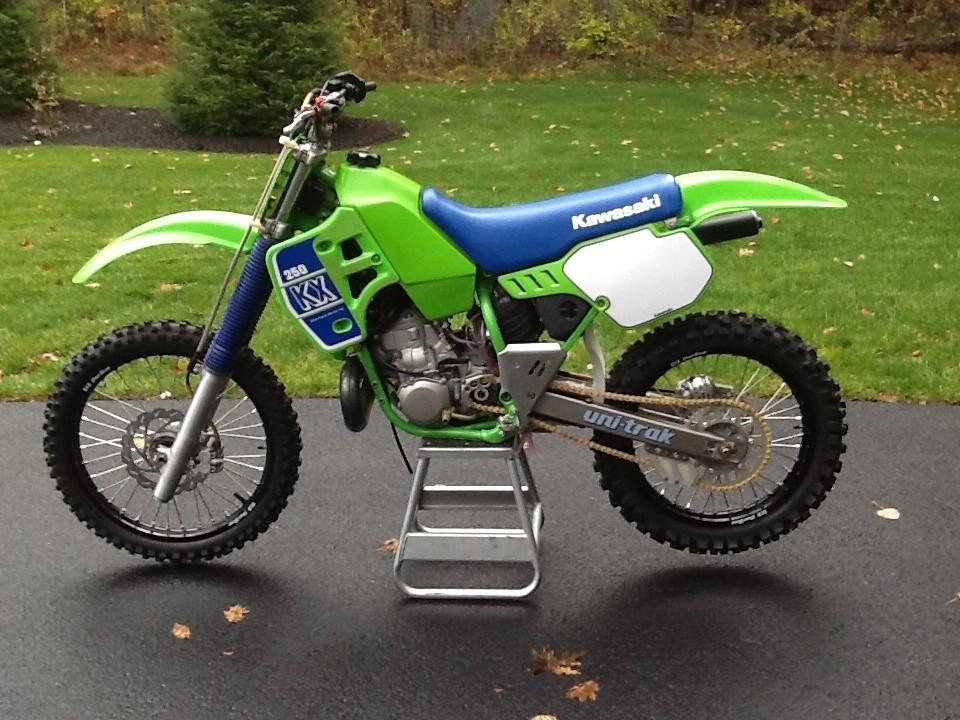 What Years Was The Kawasaki Kx