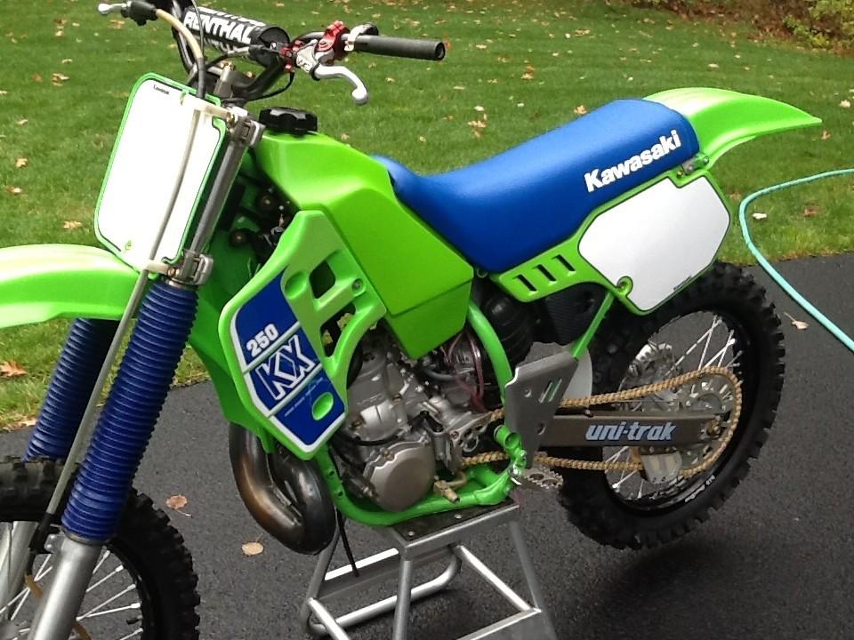 1989 Kawasaki Kx 250 Sandman768 S Bike Check Vital Mx
