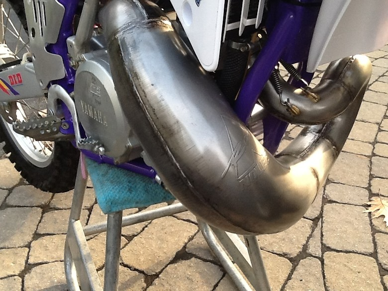 1993 Yamaha yz250 converted to 1993 US factory team colors.