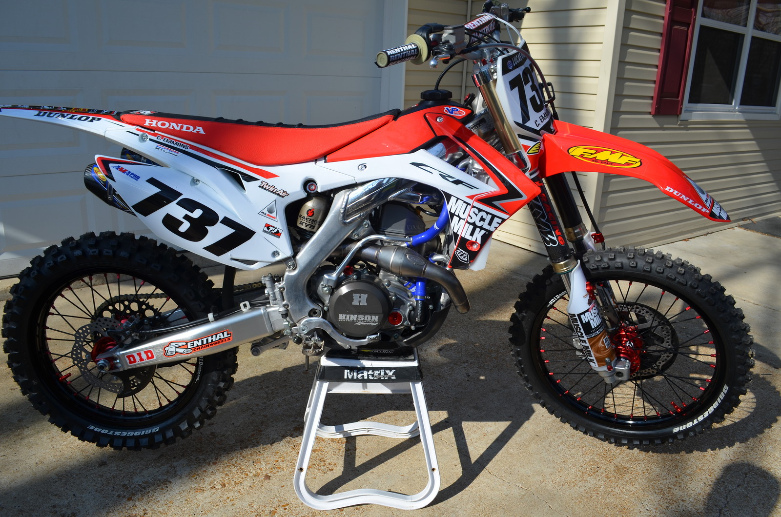 2013 crf 450 winter project