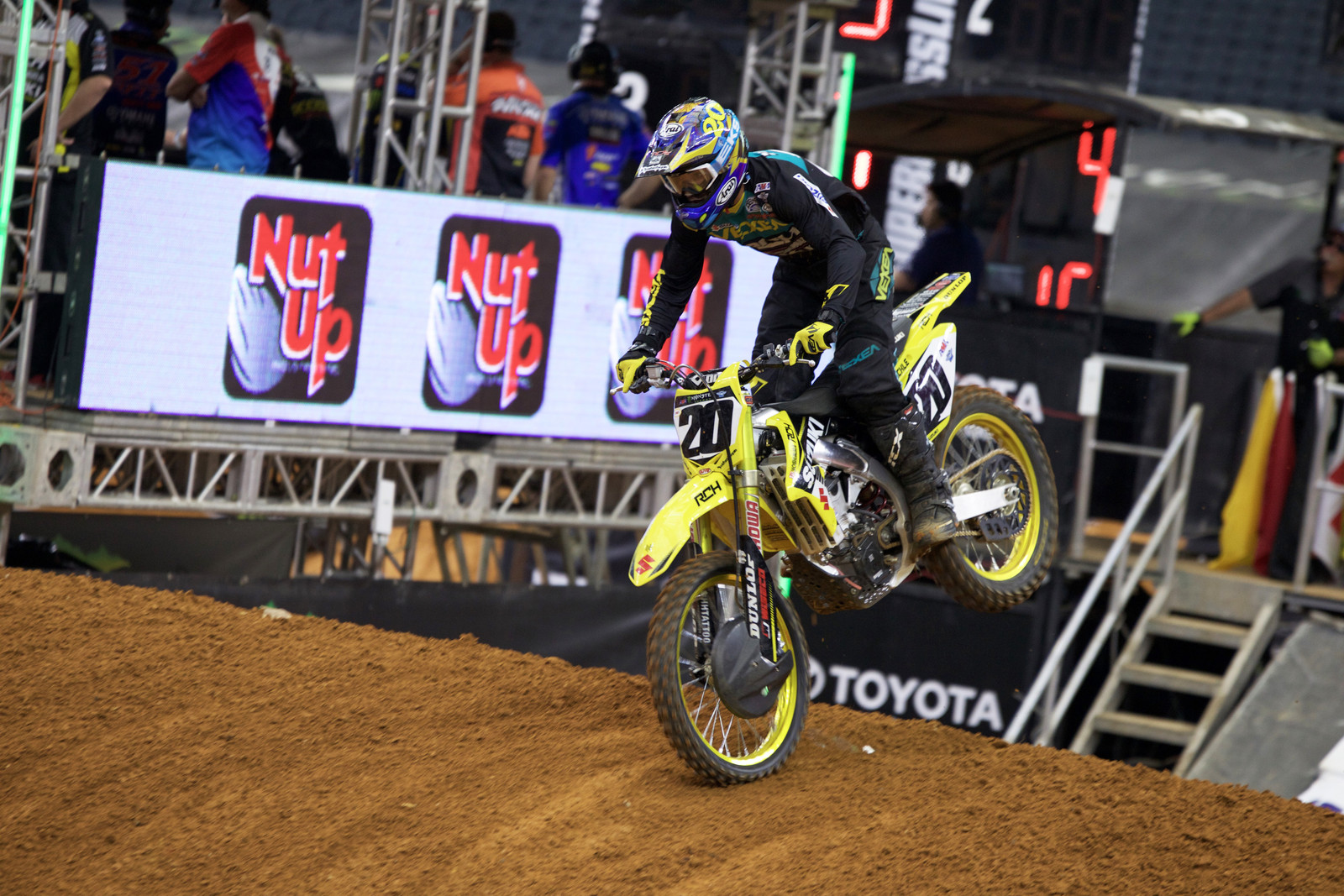Broc Tickle - Views from the Stands - 2017 Arlington SX - Motocross Pictures - Vital MX