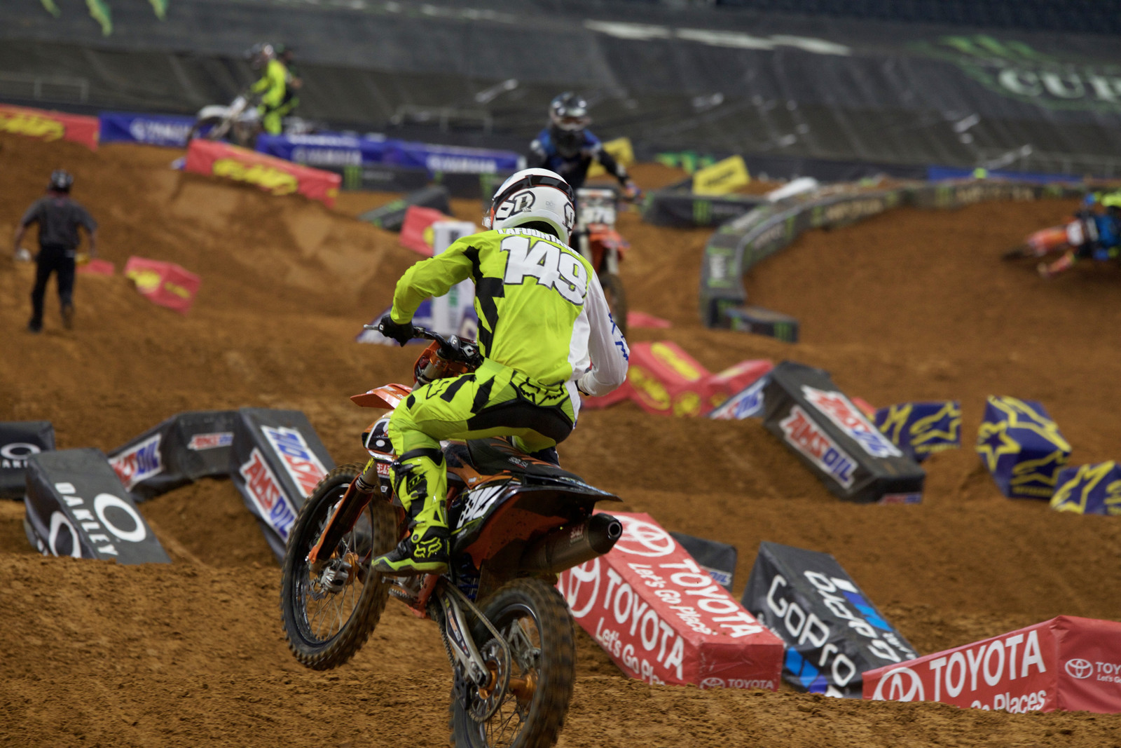 Tallon LaFountaine - Views from the Stands - 2017 Arlington SX - Motocross Pictures - Vital MX
