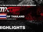 2016 MXGP of Thailand: MXGP Qualifying Race Highlights