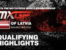2016 MXGP of Latvia - MXGP Qualifying Race Highlights
