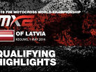 2016 MXGP of Latvia - MX2 Qualifying Race Highlights