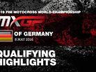 2016 MXGP of Germany - MXGP Qualifying Race Highlights