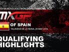2016 MXGP of Spain: MXGP Qualifying Race Highlights