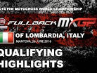2016 MXGP of Lombardia-Italy: MXGP Qualifying Race Highlights