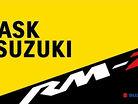 Ask Suzuki: RM-Z450 SFF Air Fork