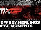 Jeffrey Herlings - 2016 MXGP Season Highlights