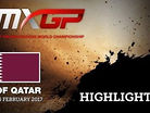 2017 MXGP of Qatar: MXGP & MX2 Race Highlights