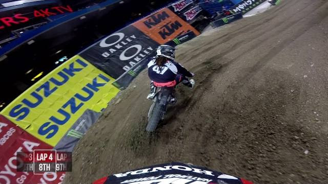 Onboard: Cole Seely - 2017 Toronto Supercross 450 Main Event